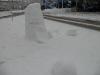 Der deformierte Schnee-Penis