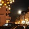 Der Mond leuchtet