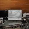Ein iMac auf dem Schreibtisch