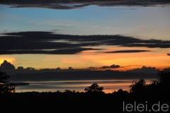 Sonnenuntergang am Tubigon Hillpark