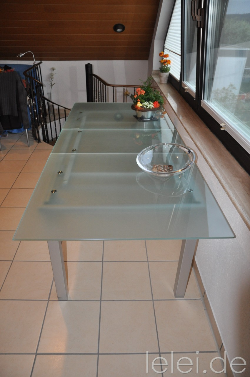 glastisch zum ausziehen glastisch with glastisch zum ausziehen glastisch ausziehbar top with. Black Bedroom Furniture Sets. Home Design Ideas