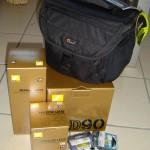 Nikon D90 mit Zubehör