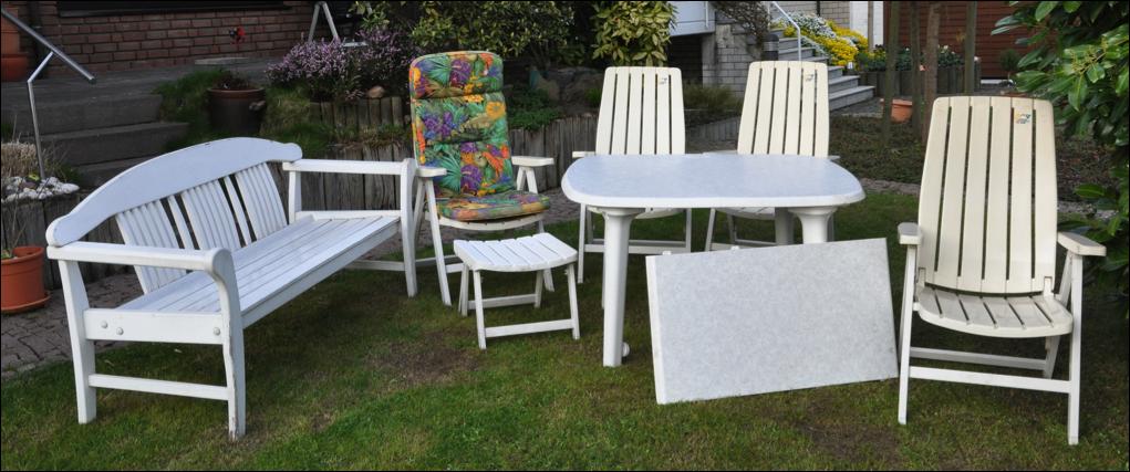 Gartenmöbel zu verkaufen » Von Essen nach Hessen