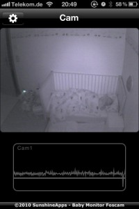 Babyphone 2.0 am iPhone
