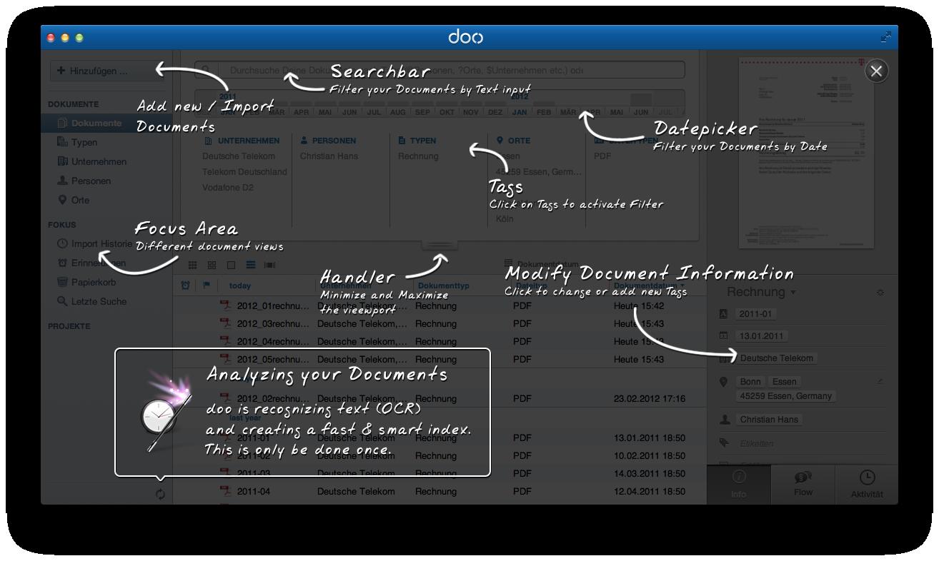 doo - verwaltet deine Dokumente für dich
