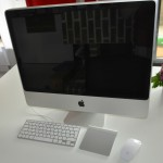 iMac mit MagicTrackPad und MagicMouse