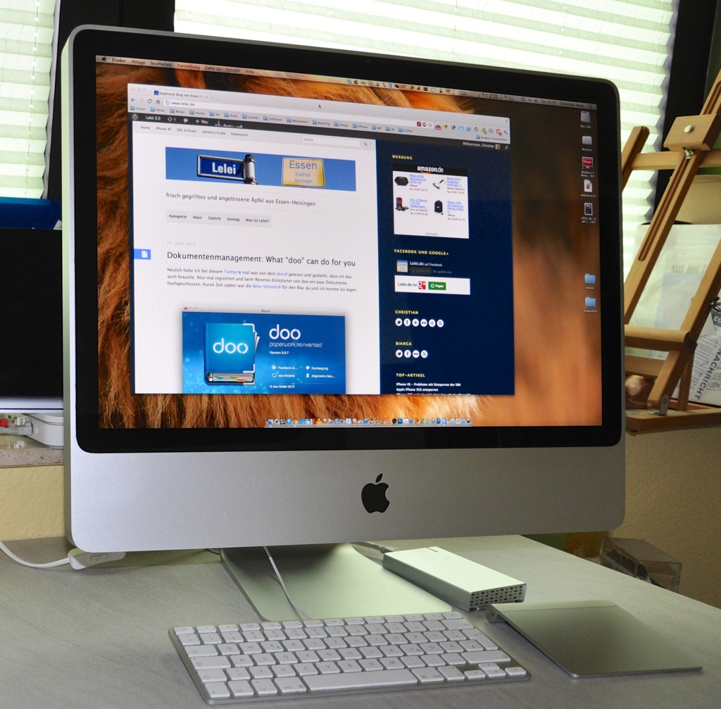 iMac in Action