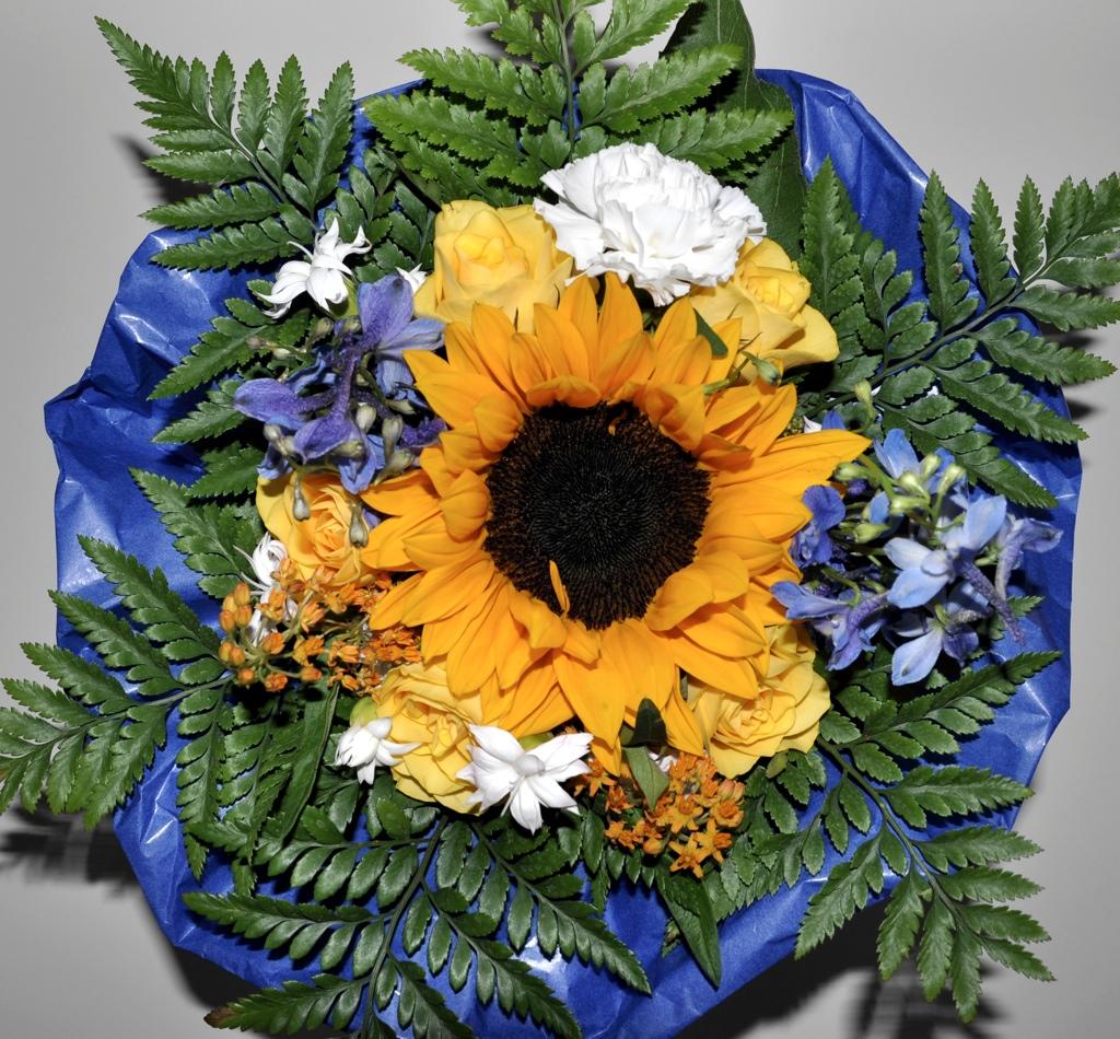 Ein Blumenstrauß für die Unannehmlichkeiten