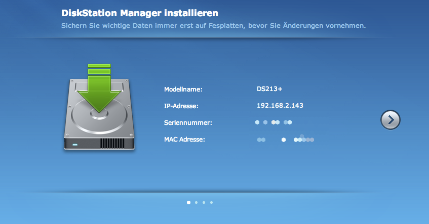 Synology Diskstation Setup