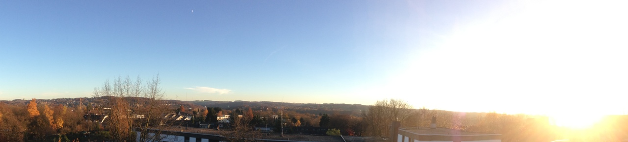 Ausblick über dem Ruhrtal
