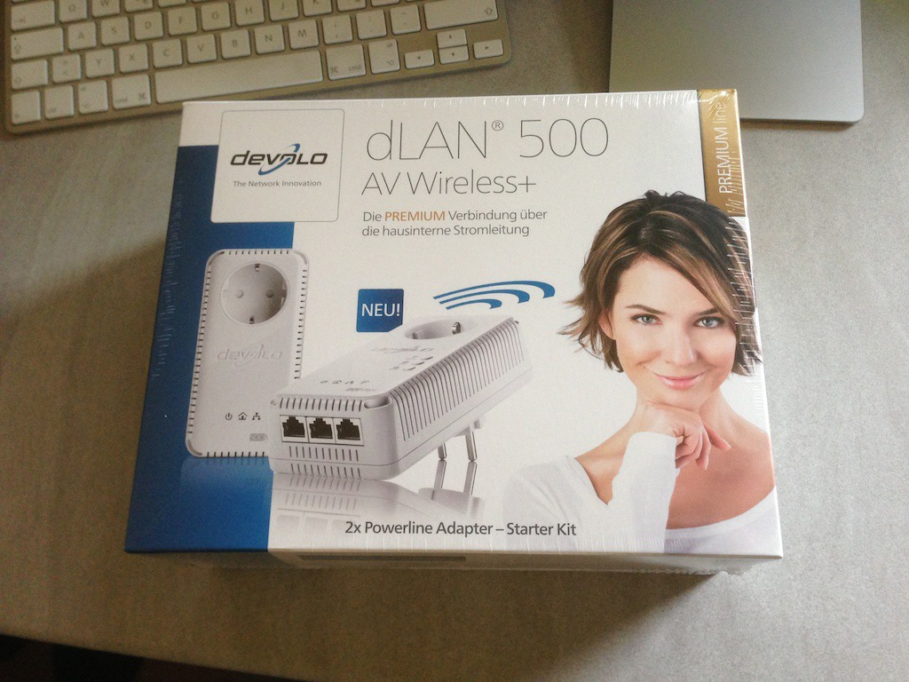 devolo dLAN 500 AV Wireless+
