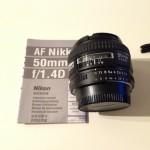 Nikon AF 50mm 1.4D
