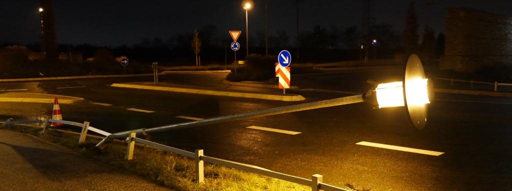 Knicklicht in Kelsterbach