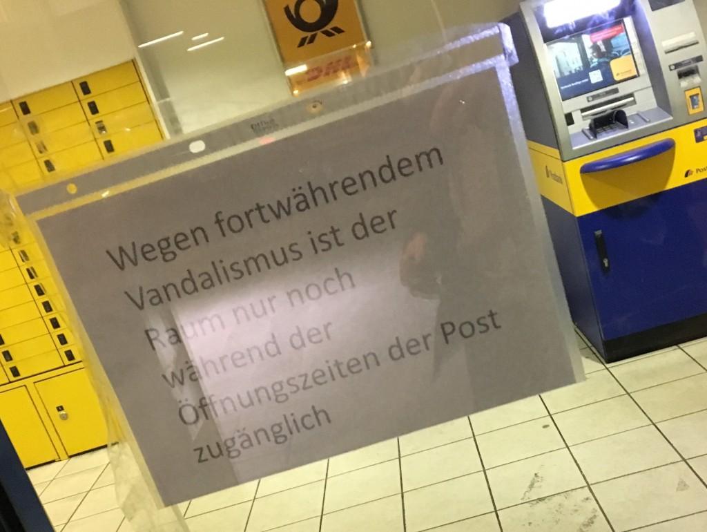 Postbank Geldautomat